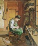 Hodler - Der Schuhmacher (1878)